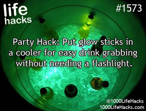 glow stick hacks 3