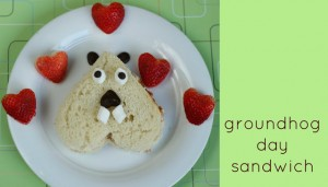 groundhog sandwich.
