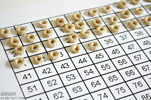 Fun Math Activities common core