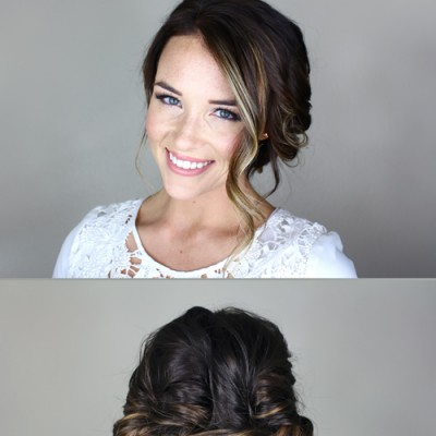 How to Achieve the Perfect Romantic Updo for Valentine's Day