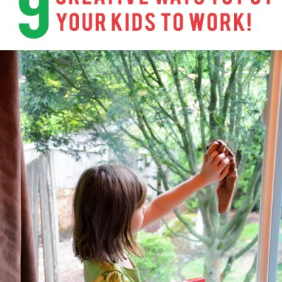 Household Chore Ideas for Kids – 9 Creative Ways to Put Your Kids to Work