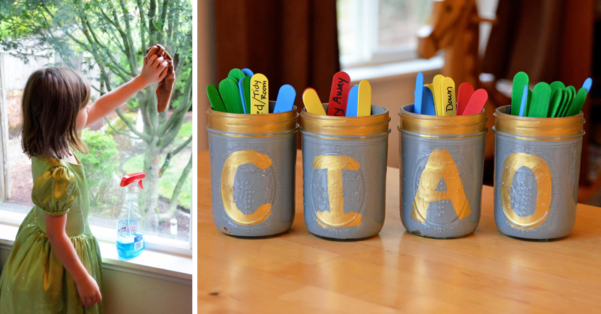 9 Creative Ways to Put Your Kids to Work (facebook)