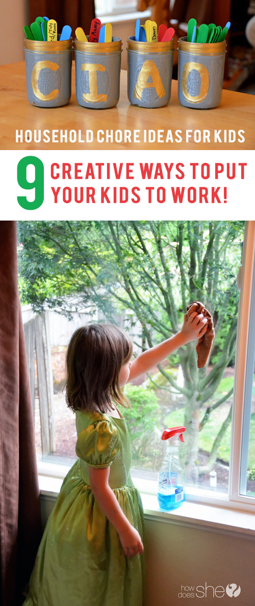 Household Chore Ideas for Kids