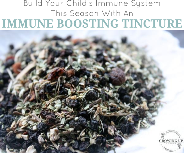 Naturally boost your child's immune system