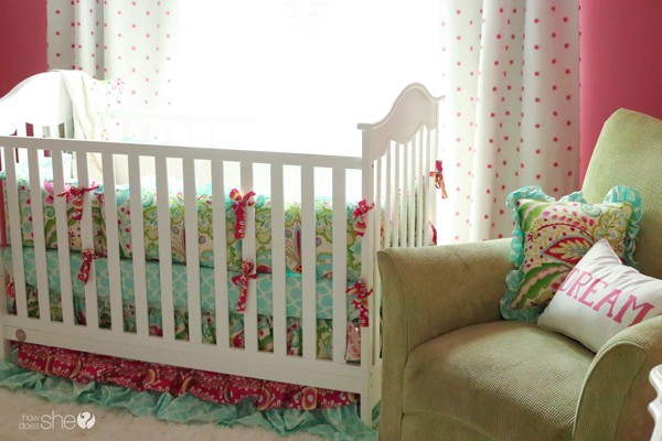 Kamari garden crib bedding