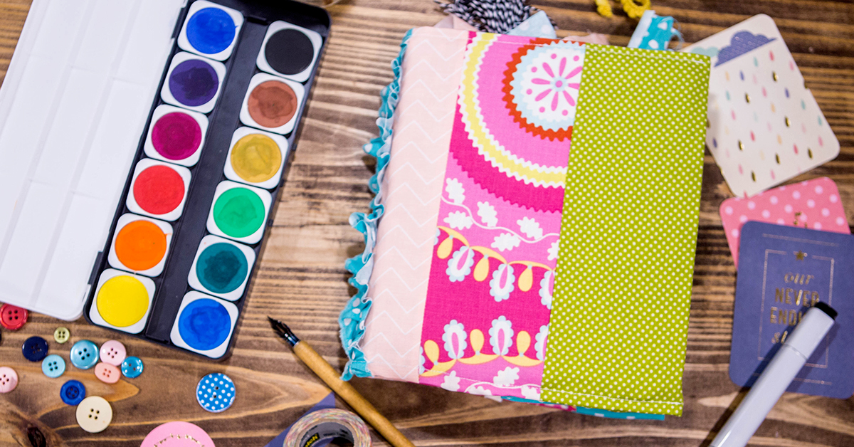 Easy Book Cover Diy Perfect For Bible Journaling How