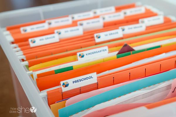Free Printable Keepake box labels - in 2 styles! (6)