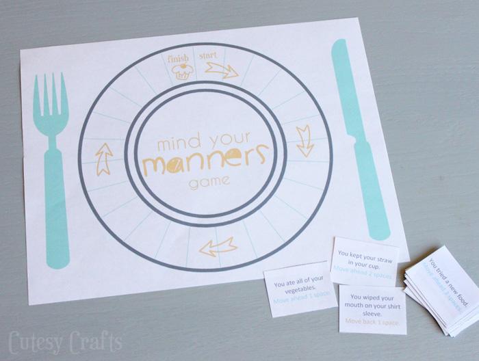 Free Preschool Crafts Manners