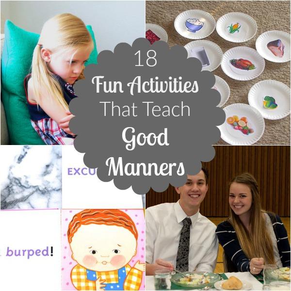 Manners Activities