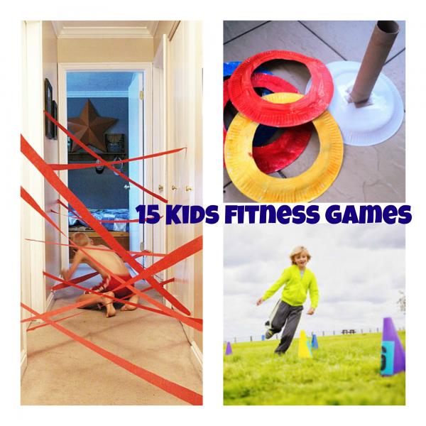15 Kids Fitness Games