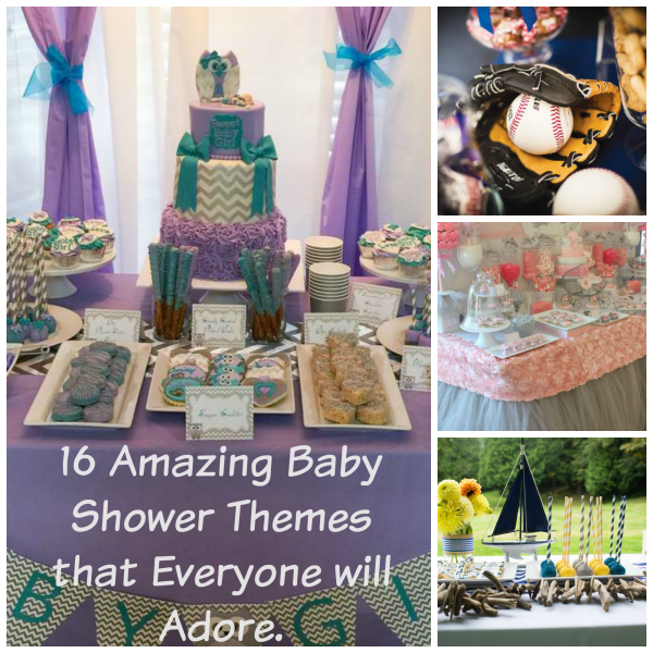16 Amazing Baby Shower Themes
