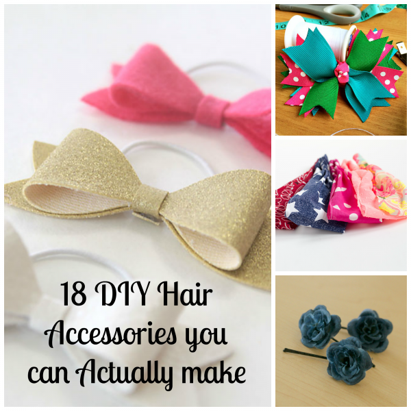 18 DIY Hair Accessories