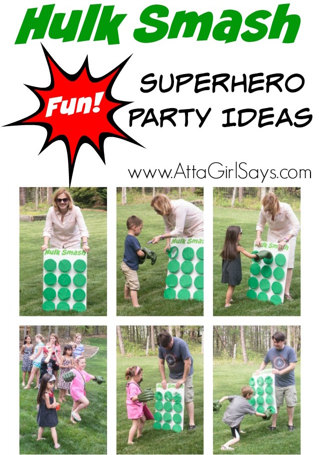 Superhero party ideas 12