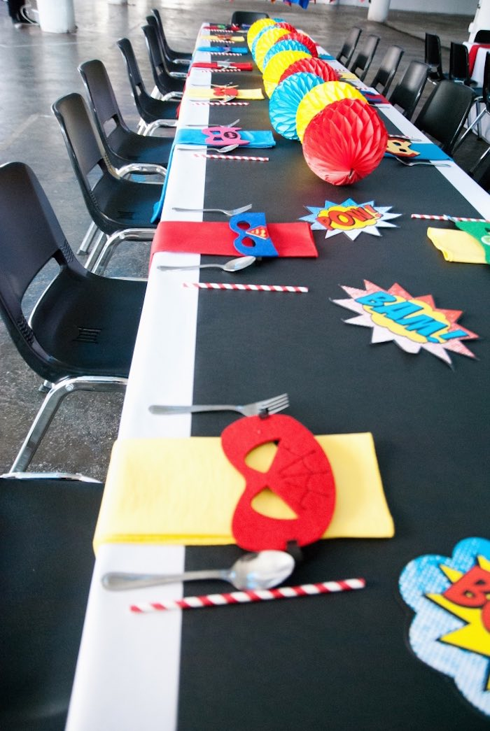 Superhero party ideas 13
