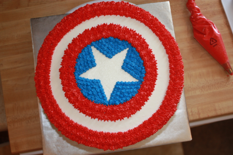 How To Make An Easy Avengers Cake