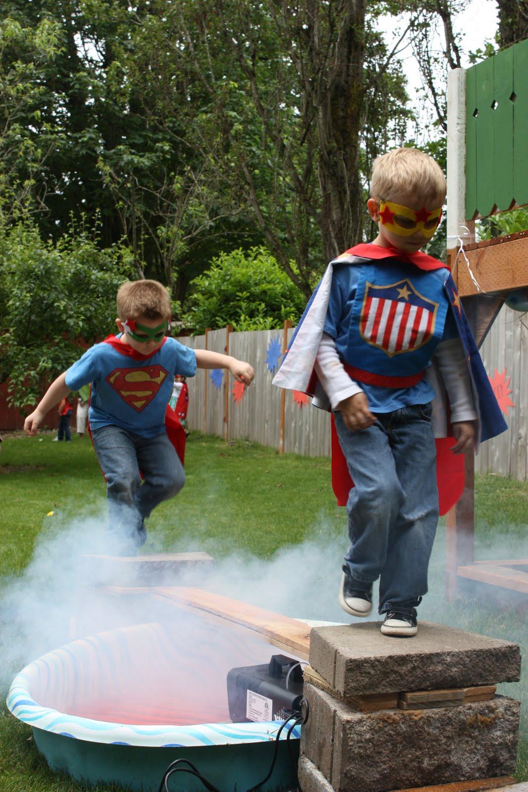 Superhero party ideas 22