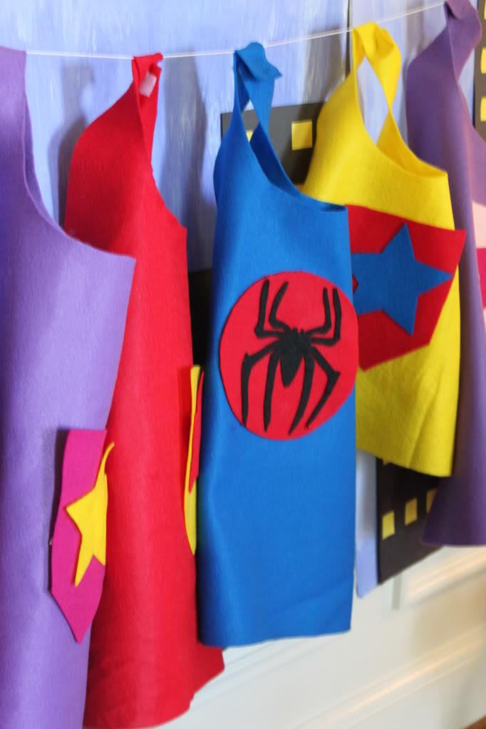 Superhero party ideas 4