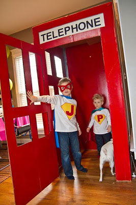 Superhero party ideas 5