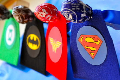 Superhero party ideas 9