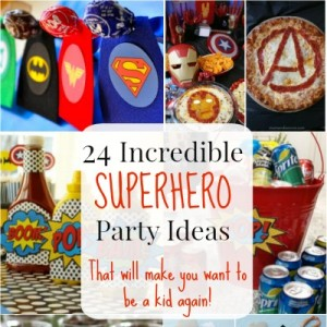 Superhero party ideas featured