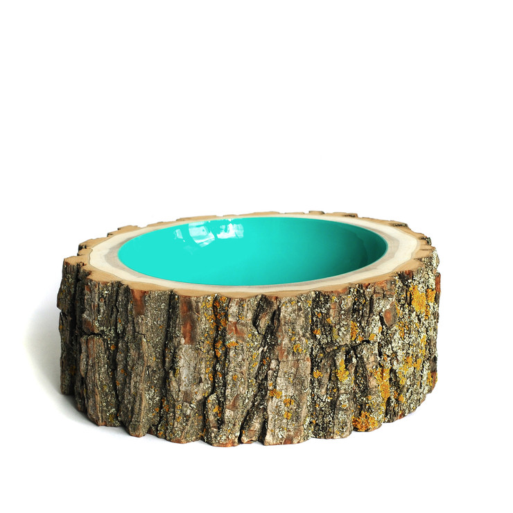 Tree stump decor 14