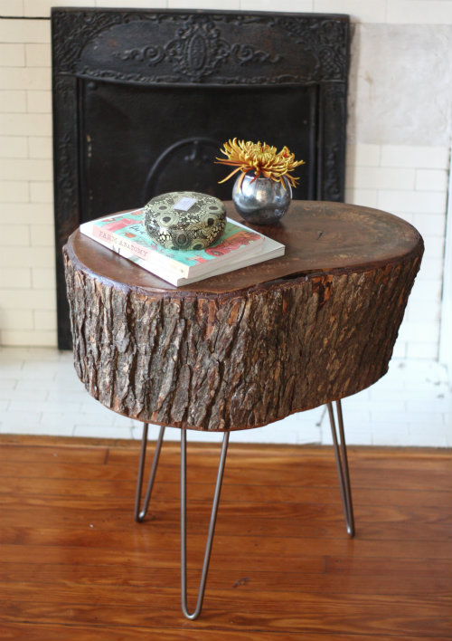 The Coolest New Decorating Trend 18 Great Tree Stump
