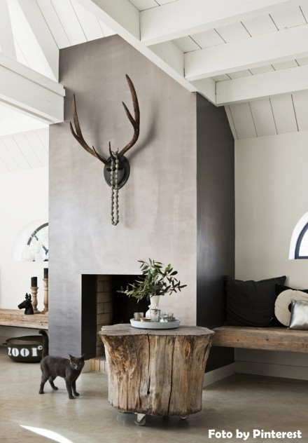 Tree Stump Wall Decor : The coolest new decorating trend great tree stump