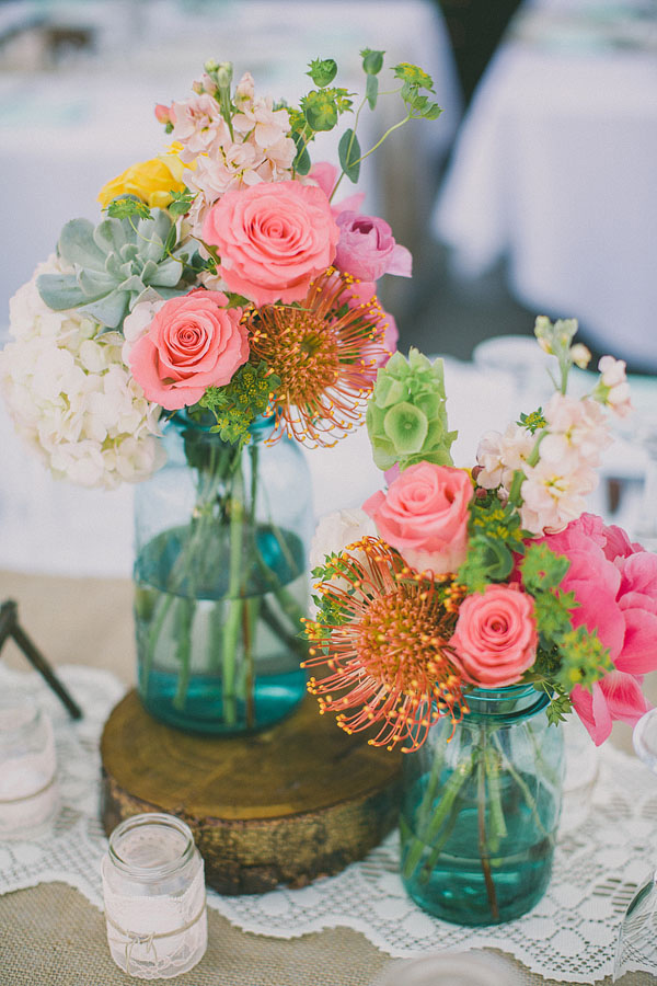21 Easy, Chic DIY Centerpieces For Weddings & Fancy