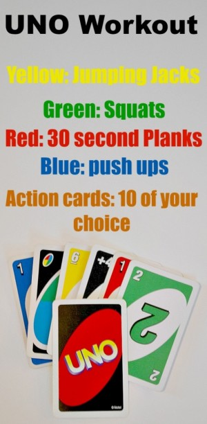 1 Take A Family Loved Game And Put Little Spin On It The UNO Workout Will Be Fun For Entire