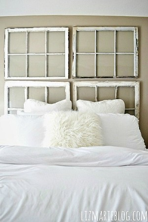 upcycled-window-headboard