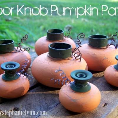 Door Knob Pumpkin Patch