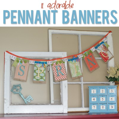 11 Exciting Pennant Banners!