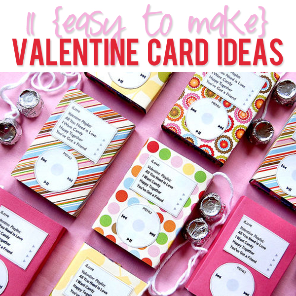11 valentines card ideas for How to make a good valentines day card