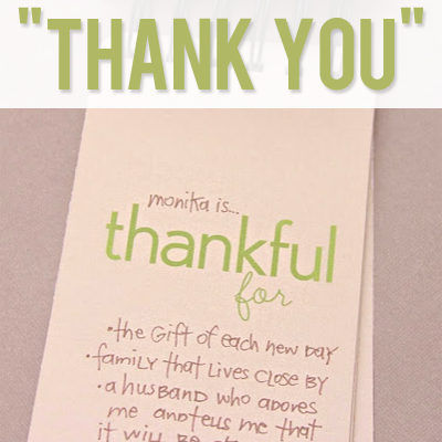 "12 Fun Ways to say ""Thank You""!"