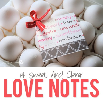 14 Love Notes