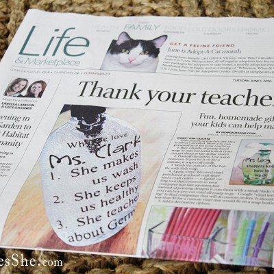 Teacher Ideas and the Idaho Statesman