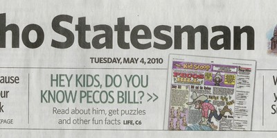 Welcome Idaho Statesman Readers!