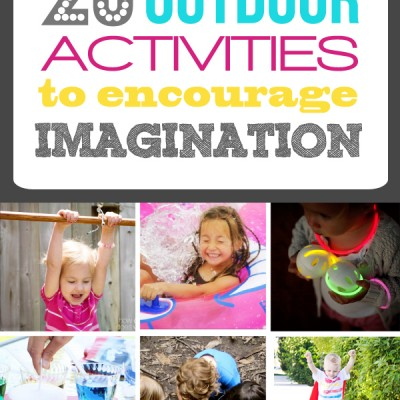 20 Outdoor Activities to Encourage Imagination
