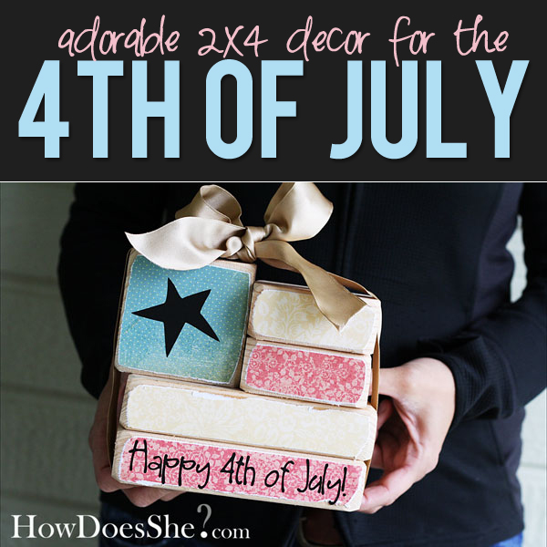 Cheap Home Decor 2x4 To 4th Of July Flag