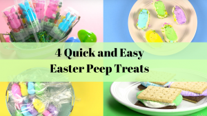 4 Quick and EasyEaster Peep Recipes