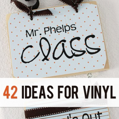 42 Vinyl Lettering Ideas   Get set.  GO!