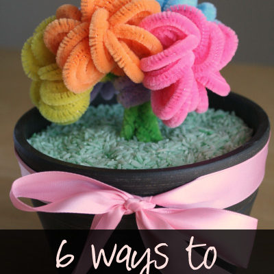6 ideas on how to entertain your kids! Featured Guest Marie from Make and Take