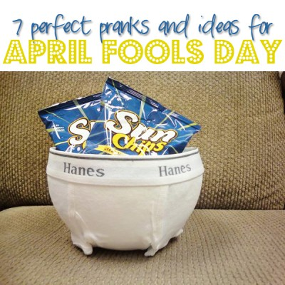 6 Perfect Pranks And April Fools Ideas!