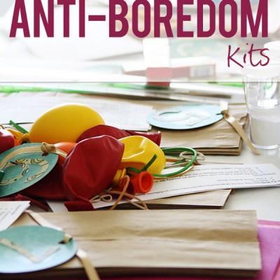 Anti-Boredom Kits…8 of them!