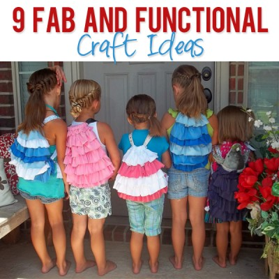 9 Fab and FUNCTIONAL Craft Ideas!