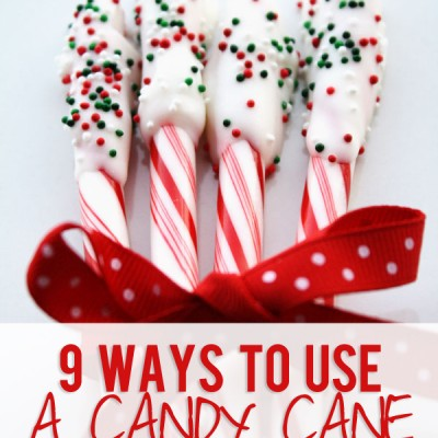 9 Ways to use a candy cane!
