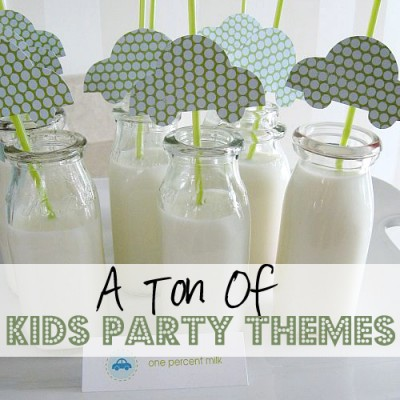Kids Party Themes 10 Ideas!