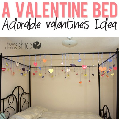 A Valentine Bed!