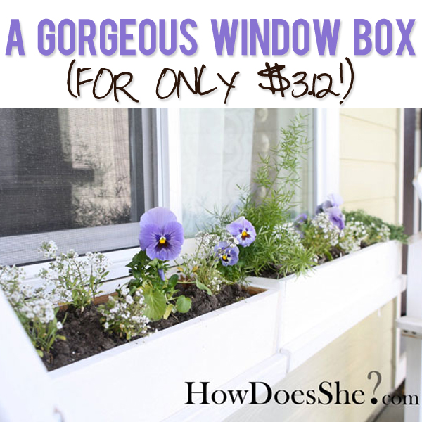 diy home decor pictures window box 10748