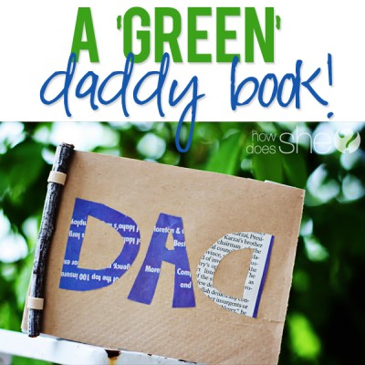 A 'green' daddy book!
